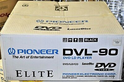 Pioneer Elite Dvl-90 Black Ld / Dvd / Cd Player - New In Box