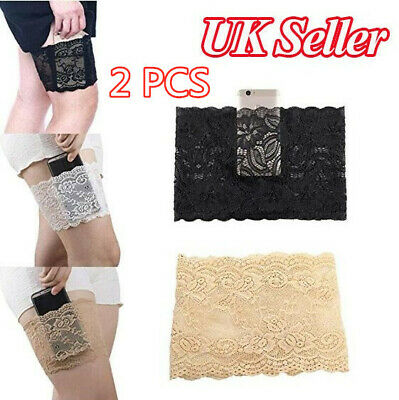 Women's Sexy Elastic Lace Anti-Chafing Thigh Bands Prevent Rubbing Thigh Sock