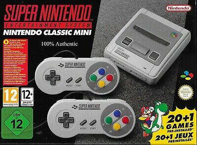 SNES Classic Edition Mini Game Console (EU Not Region Locked) Every US Game