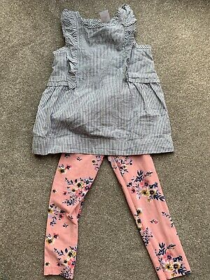 Girls Unicorn Jersey Outfit Lilac Grey Mix Ex M/&S Age 3m 7 Years RRP £12-£16