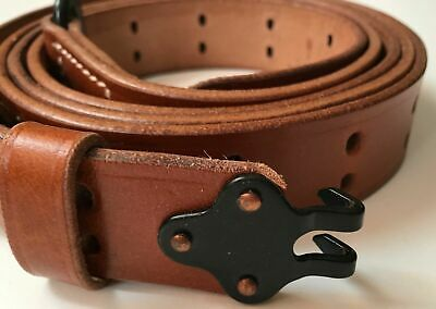 Wwii Us M1 Garand Rifle M1907 Leather Carry Sling New Gift