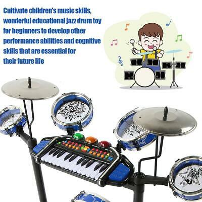 ELECTRONIC ROCK DRUM Toys for Kids with Keyboard and