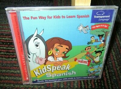 Kidspeak Spanish - Fun Way For Kids To Learn Pc Cd-Rom By Transparent Language
