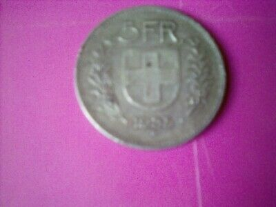 Silver 5 swiss franc 1935,b....Coin....with a high Silver content...pp