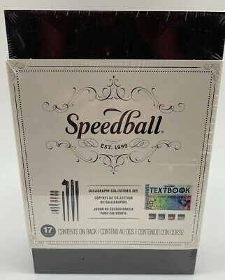 SPEEDBALL ART PRODUCTS 3063 CALLIGRAPHY COLLECTORS SET, New Sealed