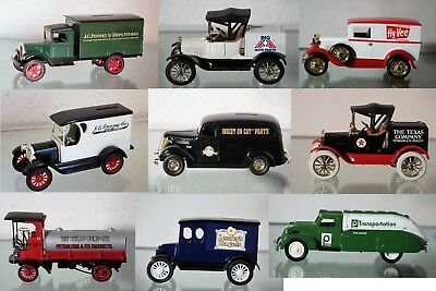 Oldtimer/Vehicle & Piggy Bank in Einem-Modell-Metall-Aussuchen: Car Ertl