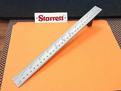 Starrett No.CB300-36  Inch and Millimeter Blade Only for Combination Square.