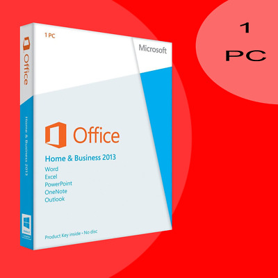 Microsoft Office 2013 Home and Business Vollversion Lizenz