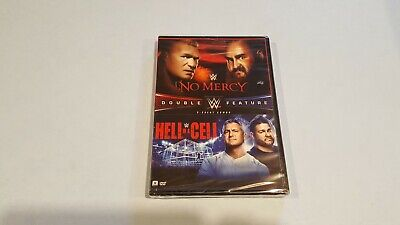 WWE: No Mercy 2017 / WWE: Hell in a Cell 2017 (DVD, 2017, 2-Disc Set) New