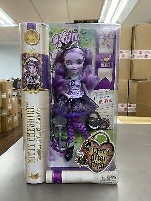 New Ever After High Kitty Cheshire Doll 1st Edition Original Box NEW
