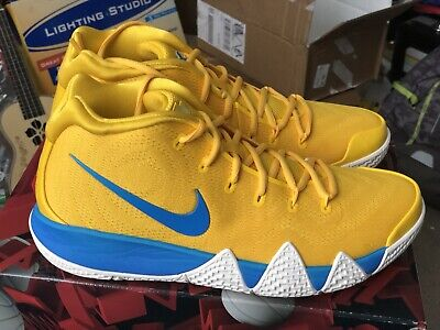 low priced 6d9bd 04262 NIKE KYRIE 4 Kix Yellow Size 13 US Mens Sneakers - $189.05 ...