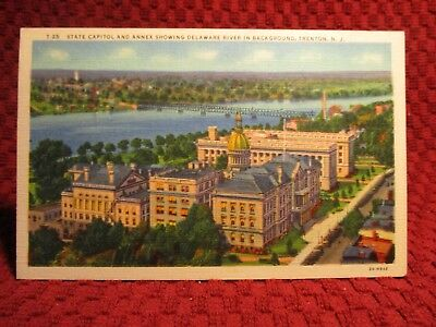 1940'S. View In Trenton, New Jersey. Postcard F1