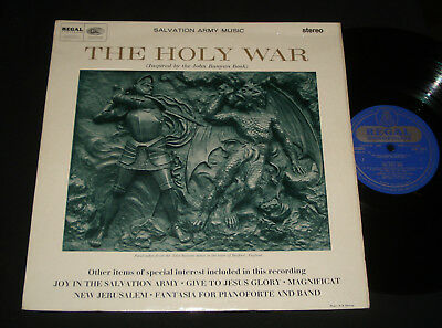 Salvation Army ‎– The Holy War - Regal Zonophone - 1965  Lp