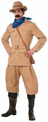 Deluxe Theodore Roosevelt Adult Costume XL Historical American President Teddy