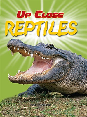 Reptiles (Up Close), Harrison, Paul, Good Condition Book, ISBN 0749676876