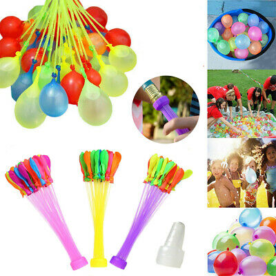 111PCS Fast Fill Magic Water Balloons Kids Summer Party Fun Toys Party
