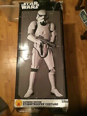 Rubies Supreme Edition Star Wars Storm Trooper Costume for Adults