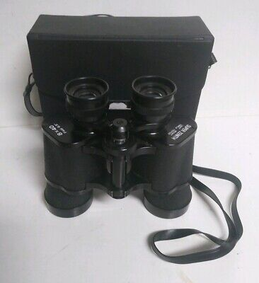 Vintage Super Zenith 8 x 40 Field 6.5 Binoculars w/ Case - Japan - Free Shipping