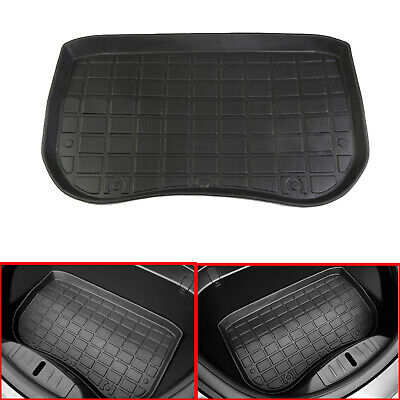 TPE Before Cargo Tray Trunk Floor Mat Black Rubber For Tesla Model 3 2017-2019