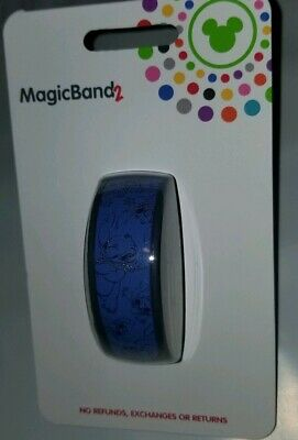 NEW Disney Parks Stitch Magic Band 2 Link It Later 2019