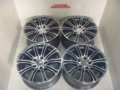 "OF144 Jantes en Alliage 17 "" Avus AC MB1 5X120 BMW Vernis Anthracite"