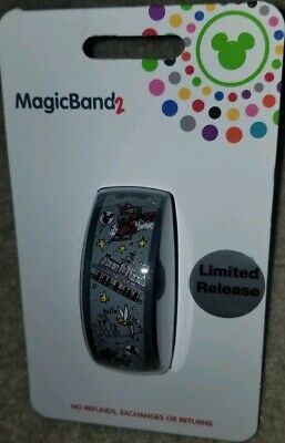 NEW Disney Parks Main Street U.S.A. Limited Release Magic Band 2 LINK IT LATER