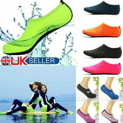 Adult Kids Water Shoes Socks Diving Socks Wetsuit Non-slip Swim Beach Camo UK