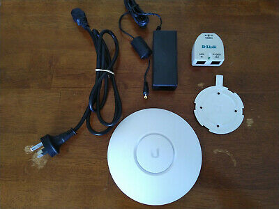 Ubiquiti nanoHD 802.11ac Wave2 MU-MIMO Enterprise Access Point with POE injector