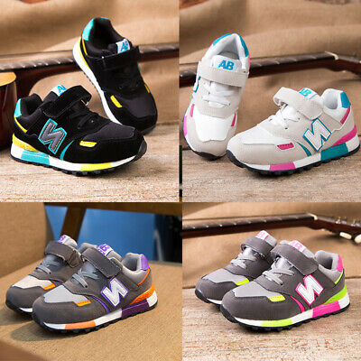 Boys Girls Kids Trainers Sneaker Running Infant Toddler Casual Shoes Child Size