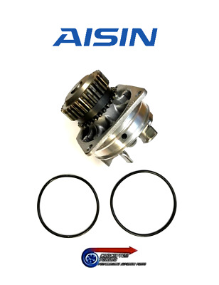 Genuine Nissan Water Pump With 2 Gasket Seals - For R35 Nissan GTR VR38DETT