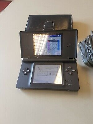 Nintendo USG-S-KB DS Lite Portable Handheld Gaming Console - Onyx Black