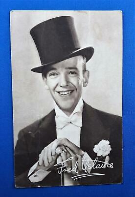 Vintage Fred Astaire Postcard c1930s  RKO Studio Hollywood Real Photo Postcard.