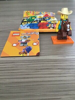 LEGO Minifigure S18 Cowboy Costume Guy minifig col326 FREE POST