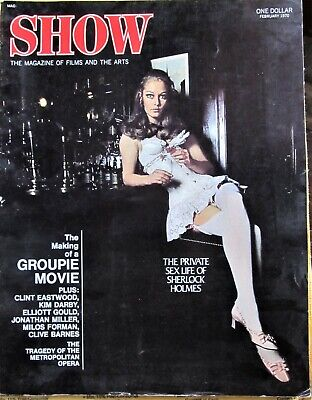 Show Magazine 1970 Privato Sex Life Of Sherlock Holmes;Groupies; Clint Eastwood
