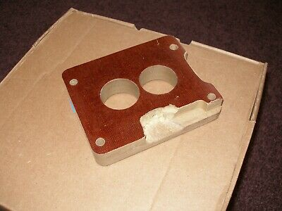 FORD CARBURETOR MOTORCRAFT with Phenolic spacer 2BBL