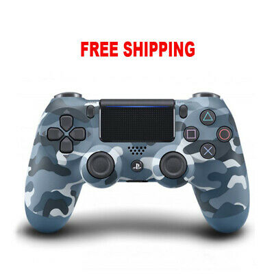 PS4 Dualshock Bluetooth Wireless PlayStation 4 Blue Camo Gamepad Controller