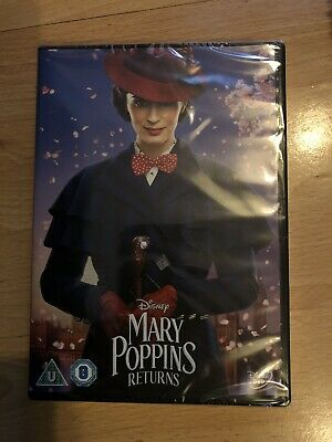 mary poppins returns dvd 2019 Brand New And Still In Plastic Covering