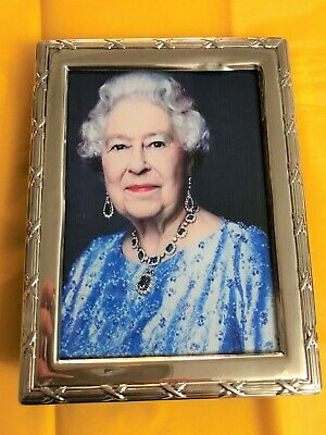 Sterling Silver Photo Frame - EI - Sheffield - 1992