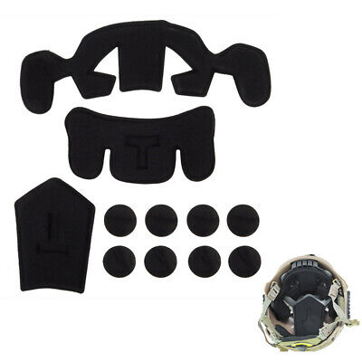 Tactical Protection Cushion Pad + Hook Set for EXF Fast Jump Military Helmet