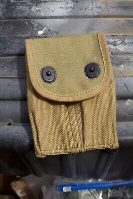 Original U.S. Army 45 Mag.Pouch used in WWI and WWII