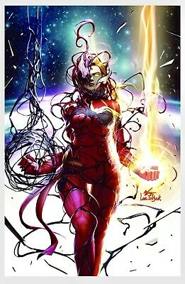 Captain Marvel #8. Carnage-Ized Inhyuk Lee. Virgin Variant PRE-ORDER 7/17/19