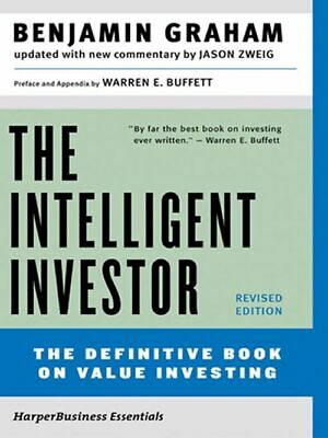 The Intelligent Investor, Rev. Ed by Benjamin Graham and Jason Zweig  (ᎬbᎾᎾᏦ)