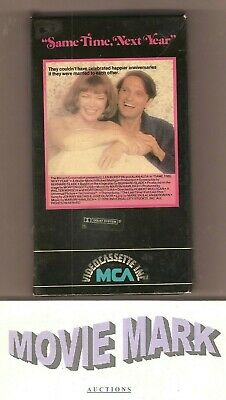 SAME TIME, NEXT YEAR 1978 MCA Videocassette Inc 1ST official release 👀 L@@K vhs