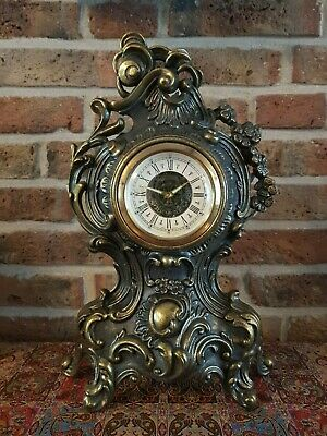 Vintage Art-Nouveau Clock with 1 day movement, German made