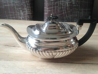 Silver Plated Regency Style Teapot. Circa 1920's T Turner and Co. Sheffield.