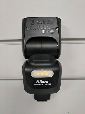 nikon speedlight sb-500 shoe mount flash