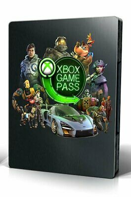 Xbox Game Pass - limited Edition - Steelbook - rare - Ps4 - XBOX - NO GAME