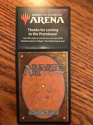Magic: The Gathering Arena Core Set 2020 6 Packs Code - Email ONLY
