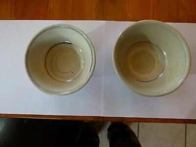 2 Lovely Hoi An Hoard Bowls Vietnamese Indo Chinese 15th/16th c. #115693 #175655