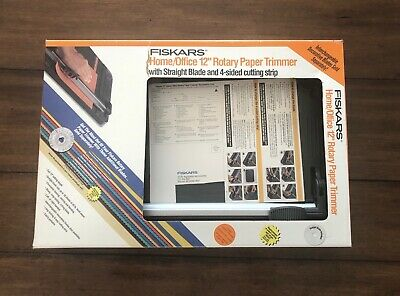 Fiskars 12 Inch Original Craft Rotary Paper Trimmer 9580 Cutter